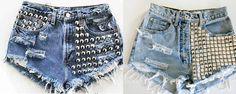 Aprendé a renovar tus short de jeans!!!