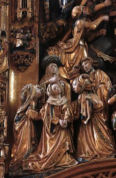 Dortmund, Westfalen, Petrikirche, altar, crucifixion, detail | by groenling