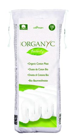 Organyc Pleats - Made with 100% organic cotton for softness. These fluffy, soft pleats can be used for daily cleansing of the face and body. Can be used on your baby or for yourself. Made with NO SLS's, Parabens or synthetic ingredients to give softness without irritation. View the full Organyc range at www.organyc.co.uk