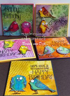 Colourstock: Crazy Birds en PanPastel
