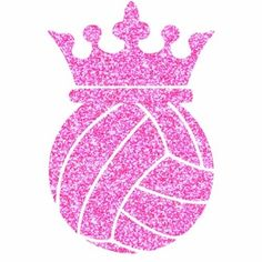 Volleyball Crown! http://www.girlsloveglitter.com/voleyball-crown-transfer.html