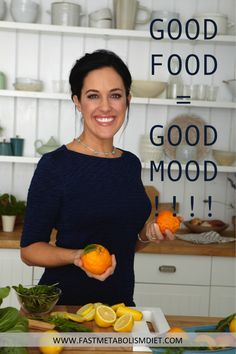 Learn how good food improves your metabolism and leads to weight loss. www.fastmetabolismdiet.com