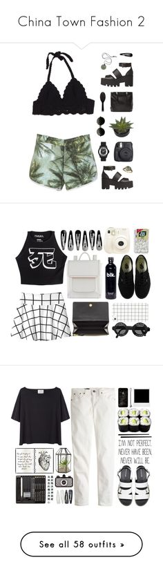 """China Town Fashion 2"" by par0dise ❤ liked on Polyvore featuring Windsor Smith, Marc by Marc Jacobs, Fuji, GHD, Monki, Mishka, ALDO, Polaroid, Balenciaga and Vans"