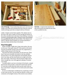 Compact Workbench Plans - Workshop Solutions