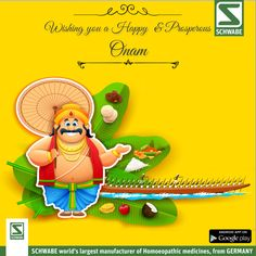Dr. Willma #Schwabeindia wishes you all a happy Onam!! May the colors and lights of #Onam fill your life with happiness, joy & good health.