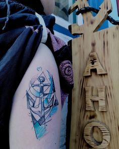 Watercolor Tattoos, girl tattoo, Blumen Tattoo, sexy tattoo, girly tattoo, tattoo idea, tattoo idee, Blumen, Blumen tattoo,Wasserfarben tattoo, watercolor art, watercolor tattoo, best tattoo,Ted2, Surf-ink-Tattoo, Anker tattoo, Anker, tattoo Anker, watercolor anker Girly Tattoos, Sexy Tattoos, Cool Tattoos, Tattoo Watercolor, Watercolour, Aquarell Tattoo, Anker Tattoo, Deathly Hallows Tattoo, Surf