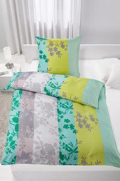 Trendige Bettwäsche im schicken Design - ein toller Blickfang im Bett