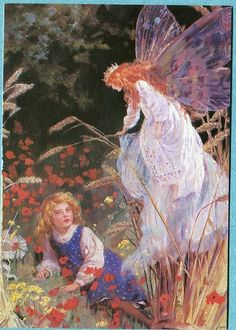 P5403 Margaret Tarrant postcard, Queen of Fairies, 4 by 6 Inches