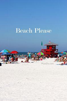 TripAdvisor ranks Siesta Key Public Beach #1 in the USA! Learn more about Sarasota, Florida beaches at MustDo.com