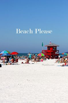 TripAdvisor ranks Siesta Key Public Beach #1 in the USA! Learn more about Sarasota, Florida beaches at MustDo.com