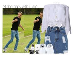 """""""At the park with Liam"""" by direction-of-the-summer ❤ liked on Polyvore featuring Payne, Daniel Wellington and adidas"""