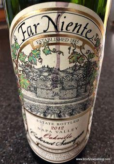 Wine Of The Day: 2012 Far Niente Cabernet Sauvignon
