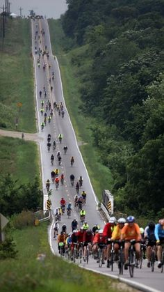 RAGBRAI. -  (Des Moines) Register's Annual  Great Bike Race Across Iowa.