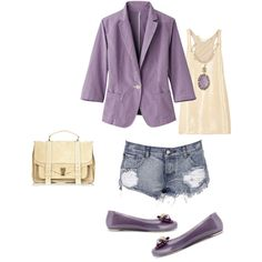 me encanta la combinacion con violeta