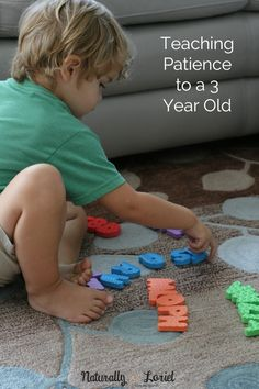Teaching Patience to a 3 Year Old - Naturally Loriel Learning Time, Toddler Learning, Toddler Preschool, Toddler Activities, Preschool Curriculum, Preschool Learning, Preschool Activities, Teaching, Homeschool