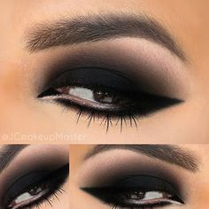Smokey Eyes are our favorite  @jcmakeupmaster used intense black and charcoal tones from the 35S palette to achieve this perfection! Follow him and share your #morphebrushes makeup looks