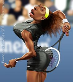 Serena WILLIAMS por Fernando Buigues, 2013