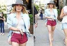Hilary Duff exibe pernões em passeio por Nova York - Grosby Group