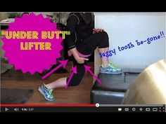 Under-Butt WONDERBUTT!!  She's a bit talkative.  The actual exercise demo starts at 1:05.