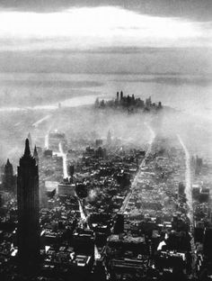 Aerial View of New York City, 1931