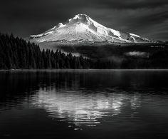 Mount Hood at Trillium Lake by Derek Kind