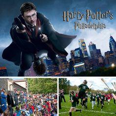 A Guide To The Harry Potter Festival In Philadelphia's Chestnut Hill