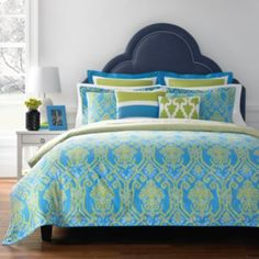 Happy Chic by Jonathan Adler Claire Reversible Duvet Cover Collection