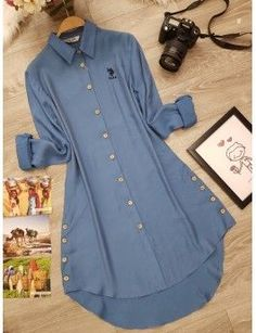 Stylish Dresses For Girls, Stylish Dress Designs, Fashion Pants, Fashion Outfits, Only Shirt, Sleeves Designs For Dresses, Pakistani Dresses Casual, Kurti Designs Party Wear, Mode Hijab