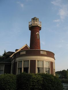 Turtle Rock Lighthouse - 1887; Schuylkill River, Philadelphia, Pennsylvania
