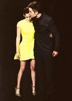 "Kristen Stewart and Robert Pattinson at the premeire of ""Breaking Dawn"" part 2 in Madrid 2012........"