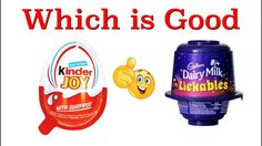 Cadbury Dairy Milk Lickables v/s KinderJoy Which one is Better || Smiley...