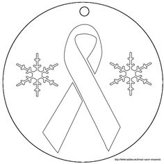 Printable Breast Cancer Ribbon Coloring Pages   breast cancer ...