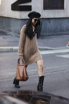 Attendees at Milan Fashion Week Spring 2018 - Street Fashion Street Style 2018, Milan Fashion Week Street Style, Spring Street Style, Milan Fashion Weeks, Cool Street Fashion, Spring Fashion, Fashion Show, Fashion Trends, London Spring