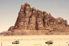 Exploring Wadi Rum on 4x4. Photo courtesy Nellie Huang.