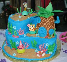spongebob cakes for kids | Best Spongebob Birthday Cake | Spongebob Birthday Cake Ideas