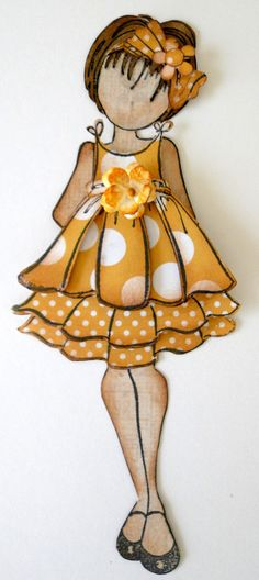 Look at this adorable Julie Nutting doll tag Prima Paper Dolls, Prima Doll Stamps, Paper Toys, Paper Crafts, Copics, Vintage Paper, Vintage Tags, Paper Piecing, Clipart