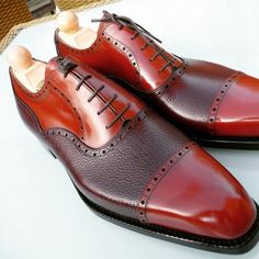 http://chicerman.com ascotshoes: What a beauty. Vass K last with a red cognac calf and Bordeaux scotch grain for a very happy US client. Can we tempt you? Your first Made to Order. Wait time around 10 weeks. You can come to our Mayfair showroom or Surrey workshop for a fitting and some whiskey. - - - - - - - - - - - - - - - - Ascotshoes@outlook.com Email Sammy for consultation on sizing fitting Made To Order MTO & Pricing. Worldwide Shipping available. Ascotshoes@outlook.com - - - - - -...