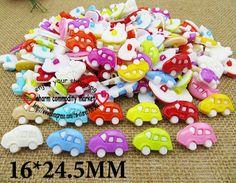 200PCS mixed color bus sweater plastic clothes button  P-086 $6,71