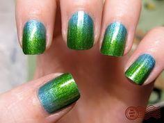 Green & Blue gradient