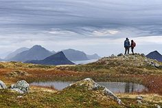 Best there is in the #magicislands - exploring for new opportunities at sea or in the mountains, but found love. @habguides on adventure at Mt Justadtind in #lofoten  @bjorholt  #hikingadventures #ediax #vikingfootwear #adventureisoutthere #thegreatoutdoors #landscapesofnorway #visitnorthernnorway #mittfriluftsliv #mammutscandinavia
