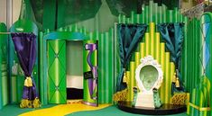 wizard of oz emerald city background - Google Search