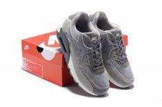 0de994dece5e23 Nike Air Max 90 Men s women s Running Shoes Grey  SIM006079