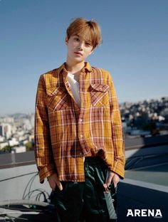 Jungwoo May Issue of Arena Homme+ Magazine 2018