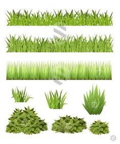 Grass and Bush Collection