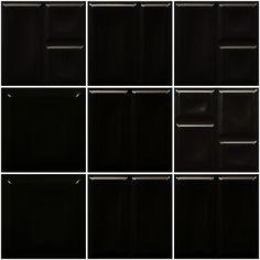 Deco™ Black Tile