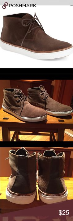 Steve Madden Fedder Chukka Boot Pre loved and in very good condition. Steve Madden Fedder Chukka Boot. Hit the streets in new age urban style with these sneaker inspired chukka boots. Leather upper/textile lining/rubber sole. Look at photos for signs of wear. Still have a lot of life in them. Steve Madden Shoes Chukka Boots