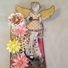 Anna louise: Julie Nutting Mixed Media Doll Stamp Tag