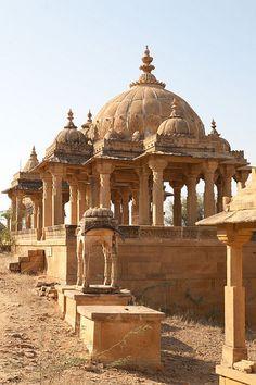 Jaisalmer: Bada Bagh Cenotaphs | Flickr - Photo Sharing!