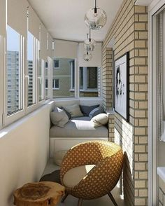Modern decor in natural tones for a young woman # living room # ideas … – Small Balcony Decor Ideas Cozy Apartment Decor, Apartment Balcony Decorating, Apartment Balconies, Apartment Layout, Cool Apartments, Apartment Interior, Apartment Living, Apartment Ideas, Luxury Apartments