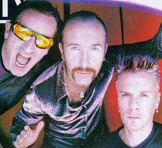 Bono, Edge & Larry Edge without a hat! ❤️❤️❤️ them